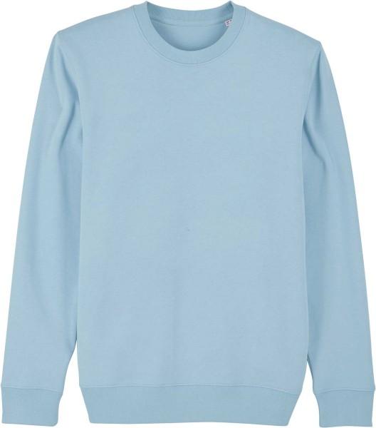 Unisex Sweatshirt aus Bio-Baumwolle - sky blue