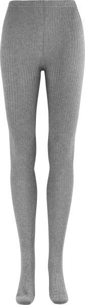 Strickstrumpfhose aus Bio-Baumwolle - coke