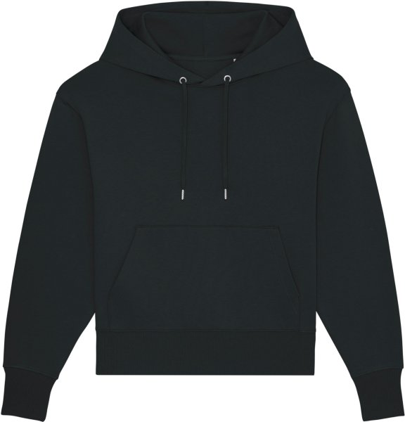 Oversized Unisex Hoodie aus Bio-Baumwolle - black