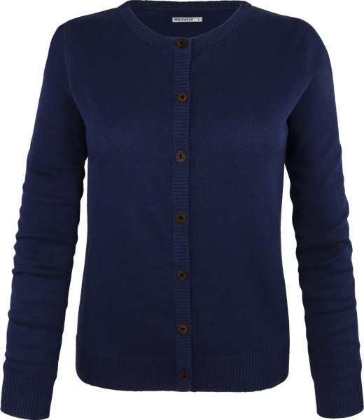 Cardigan aus Bio-Baumwolle - dunkelblau