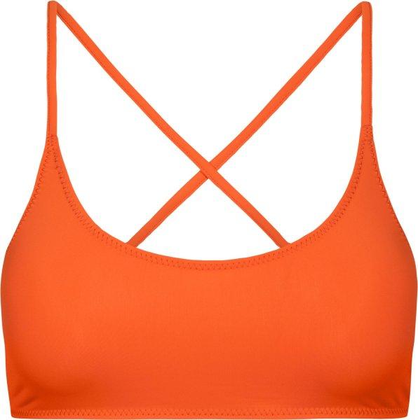 Eco Crossback Bikini Top - orange
