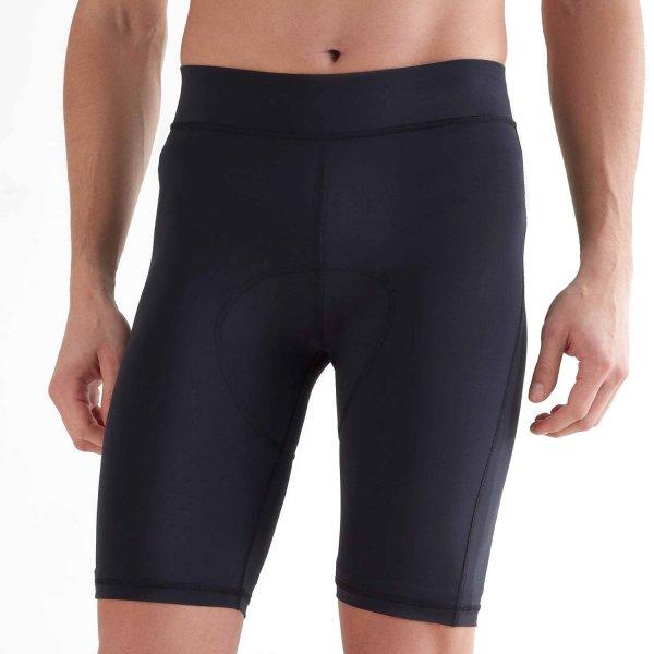 Biker Shorts aus Recycle-Polyester - black