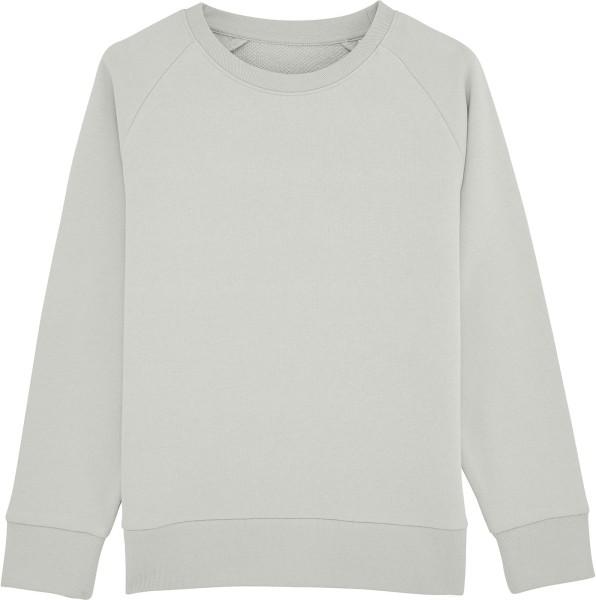 Unisex Kinder Sweatshirt Bio-Baumwolle - light opaline