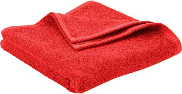 Handtuch aus Bio-Baumwolle 100x50 cm - red clay