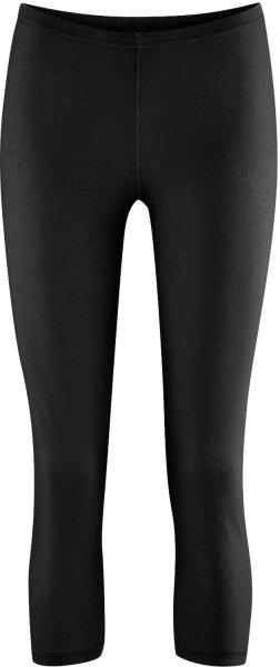 Leggings aus Bio-Baumwolle und Hanf - schwarz - Bild 1
