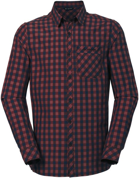 Hemd Heimer LS Shirt II - cherrywood