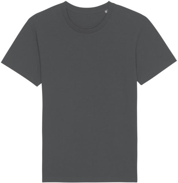 Basic T-Shirt aus Bio-Baumwolle - anthracite