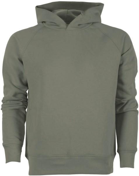 Raglan-Hoodie aus Bio-Baumwolle - khaki