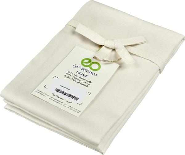 Kissenbezug aus Bio-Baumwolle - natur