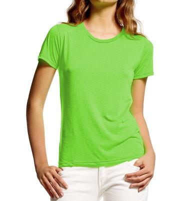Ultra-Fine Fluorescent T-Shirt neongrün - Bild 1