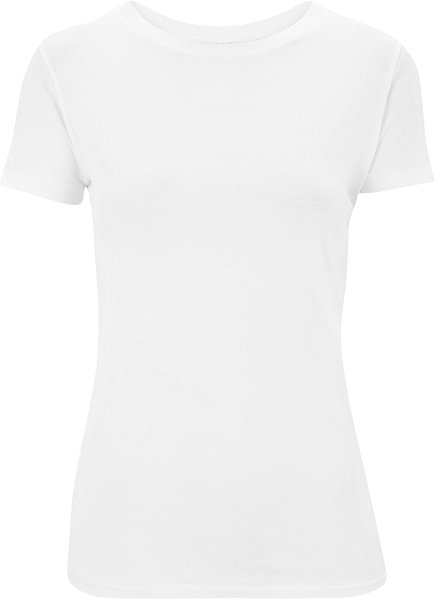 Slim-Fit Jersey T-Shirt weiss
