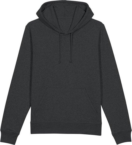 Unisex Hoodie aus Bio-Baumwolle - dark heather grey