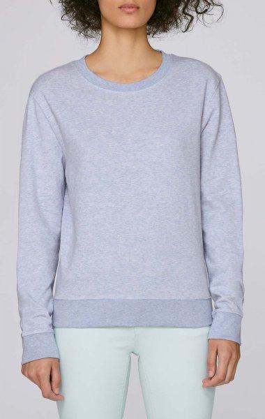 Hides - Sweater aus Biobaumwolle - light heather lilac - Bild 1