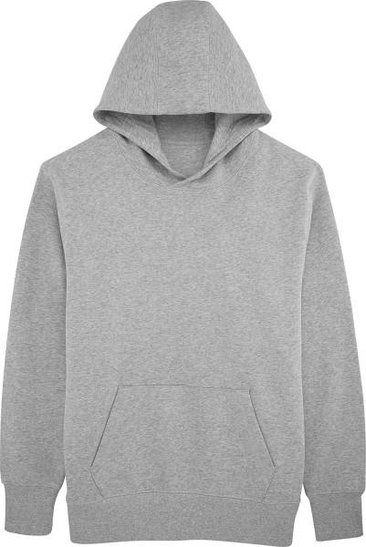 Unisex Kapuzenpullover Bio-Baumwolle - heather grey