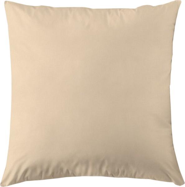 Kissenbezug aus Bio-Baumwolle 80x80 cm - beige