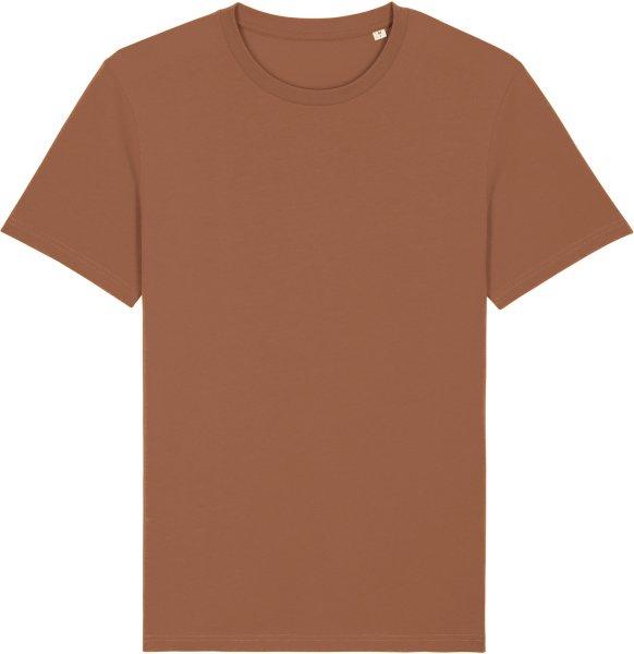 T-Shirt aus Bio-Baumwolle - caramel