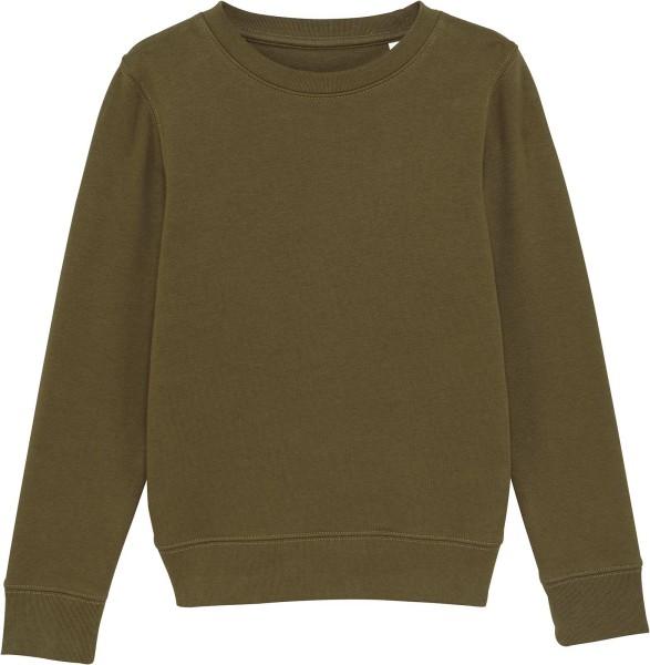 Kinder Sweatshirt aus Bio-Baumwolle - british khaki