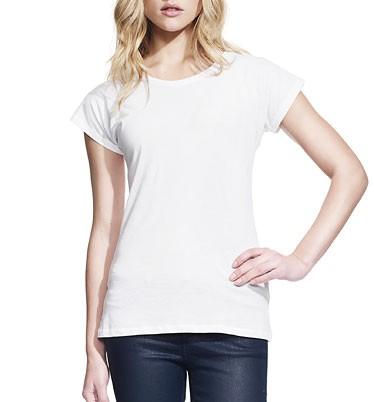 Slim-Fit Batwing T-Shirt - weiss - Bild 1
