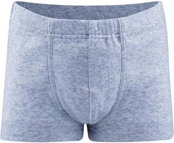 Jungen Pants aus Bio-Baumwolle - blue melange