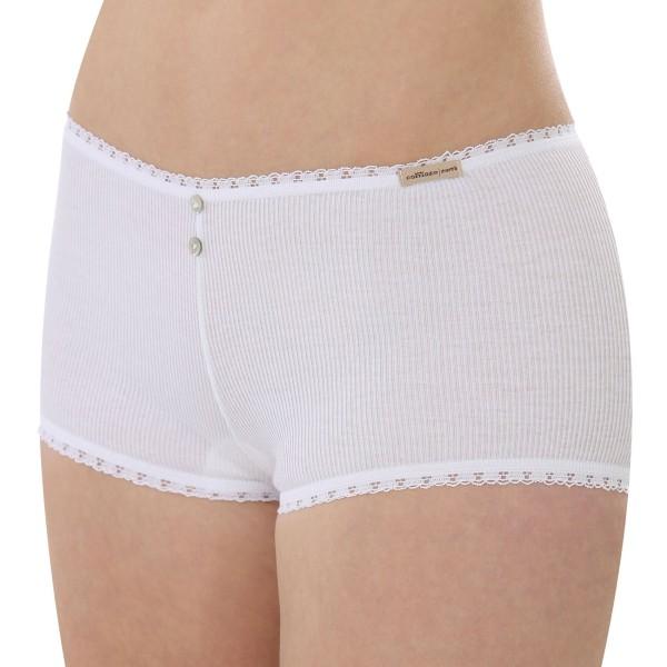 Hot Pants Doppelripp weiß 1-43-2788