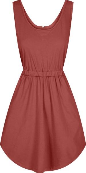 Kleid aus Bio-Baumwolle - rot