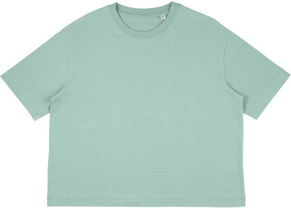 Organic Heavy Oversized T-Shirt - slate green