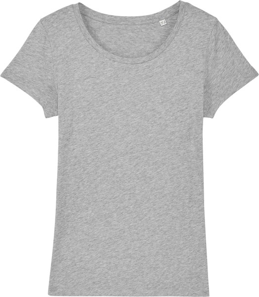 Jersey-Shirt aus Bio-Baumwolle - heather grey