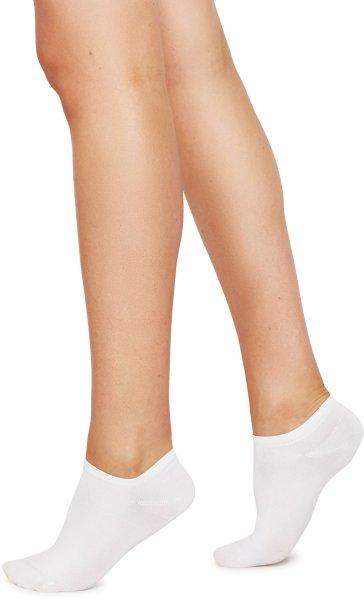 Sara Premium Sneaker Socken aus Nilit - white