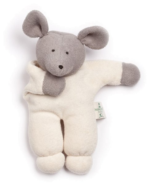Nuckitier Mausi Puppe aus Bio-Baumwolle - Bild 1