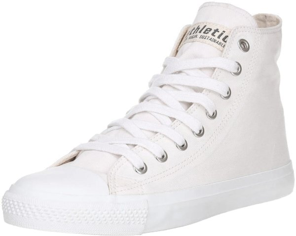 Fair Trainer White Cap Hi Cut - Just White/Just White