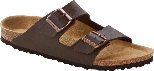 Arizona Vegan - Sandale Birko-Flor - saddle matt brown