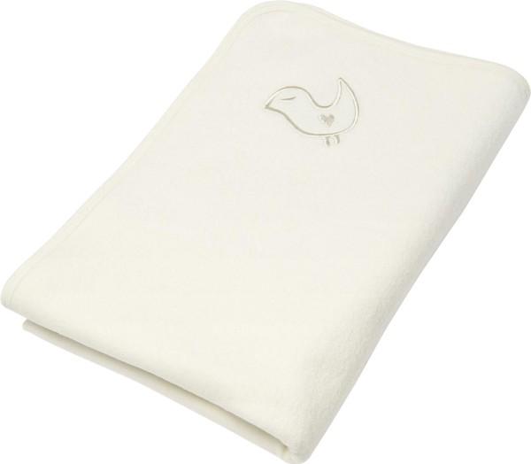 Baby Fleece-Decke aus Bio-Baumwolle - natur - Bild 1