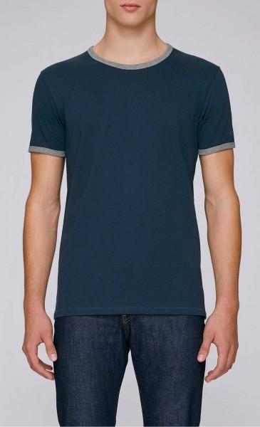 Holds - Retro T-Shirt aus Biobaumwolle - navy - Bild 1