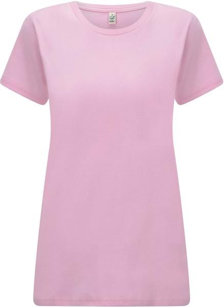 Organic T-Shirt CO2-neutral - sweet lilac