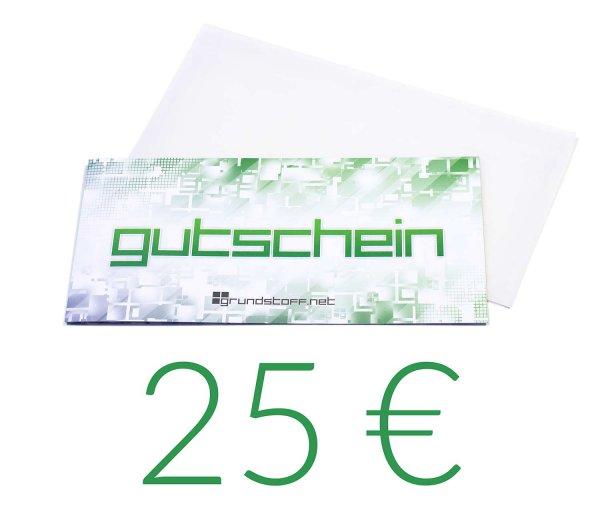 25,- EUR Geschenkgutschein - neutrales Design - Bild 1