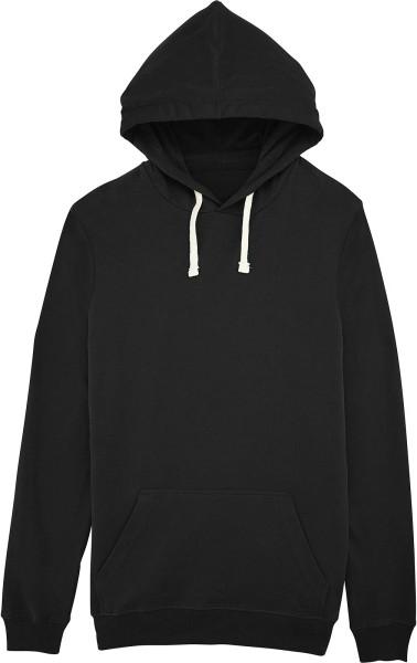 Explore - leichter unisex Hoodie aus Bio-Baumwolle - schwarz - Bild 1
