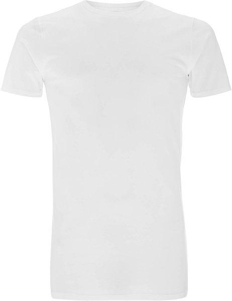 Organic Long T-Shirt CO2-Neutral weiss