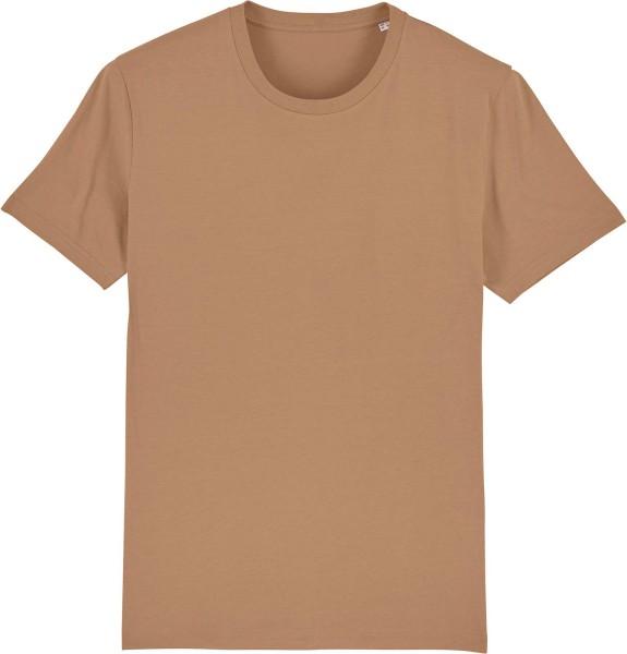 T-Shirt aus Bio-Baumwolle - camel