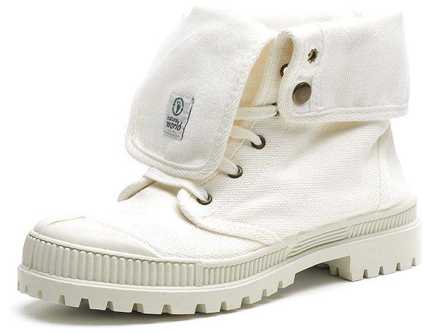 Bota Alta - Schuhe aus Bio-Baumwolle - blanco - Bild 1
