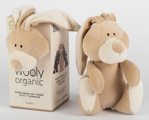 Kuscheltier Bunny aus Bio-Baumwolle - klein - Bild 1