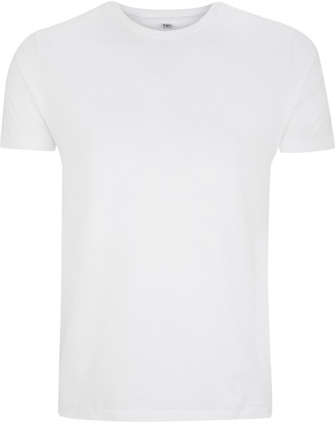 Men''s Urban Brushed Jersey T-Shirt weiss