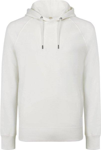 Schwerer Unisex Hoodie aus Biobaumwolle - white mist