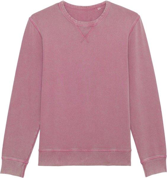 Vintage Sweatshirt aus Bio-Baumwolle - g. dyed aged mauve