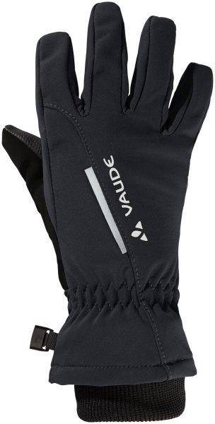 Kinder Handschuhe Softshell Gloves - black uni