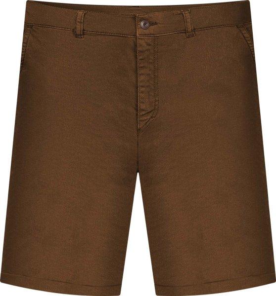 Chino Shorts aus Bio-Baumwolle - brown