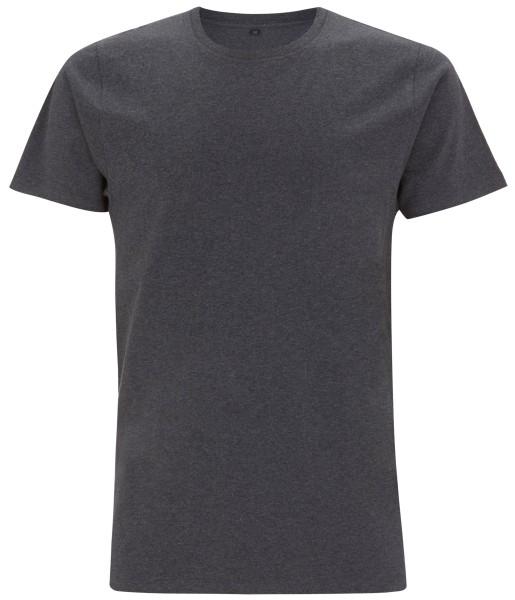 Organic Shirt black melange