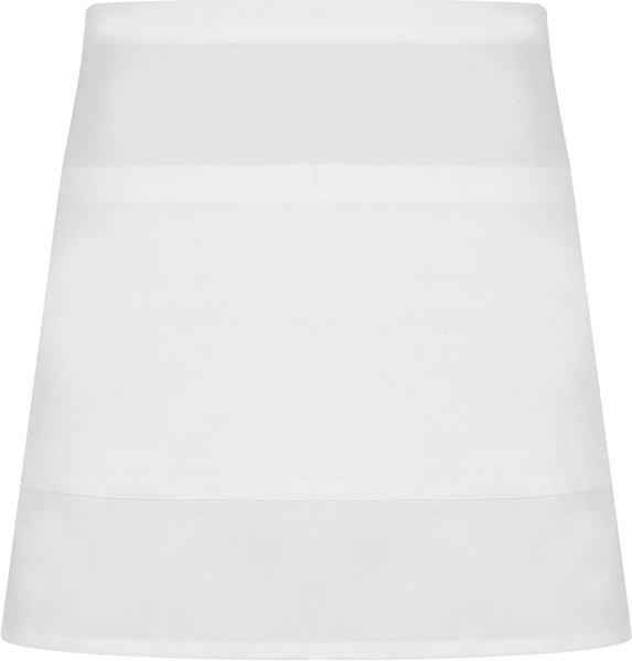 Bistroschürze aus Bio-Baumwolle - white