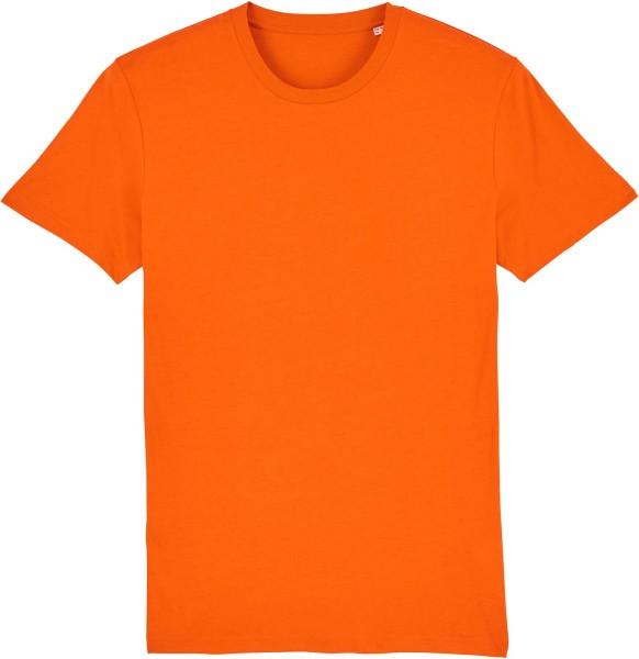 T-Shirt aus Bio-Baumwolle - bright orange