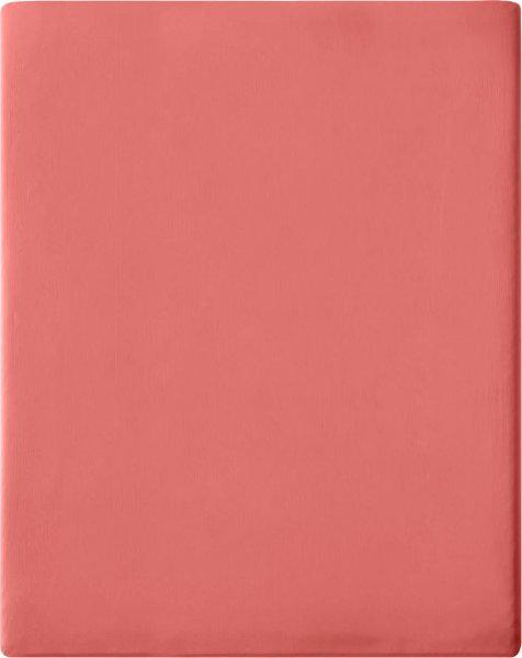 Satin-Spannbetttuch aus Bio-Baumwolle 160x200cm - blush