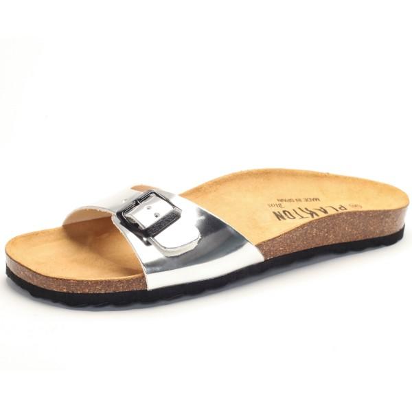 Sandale mit Fußbett - spequio 180 - plata